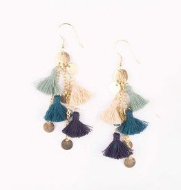 Mata Traders Fringe Frenzy Earrings - Mata Traders