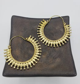 Boho Gal Jewelry Oni Hoop Earrings