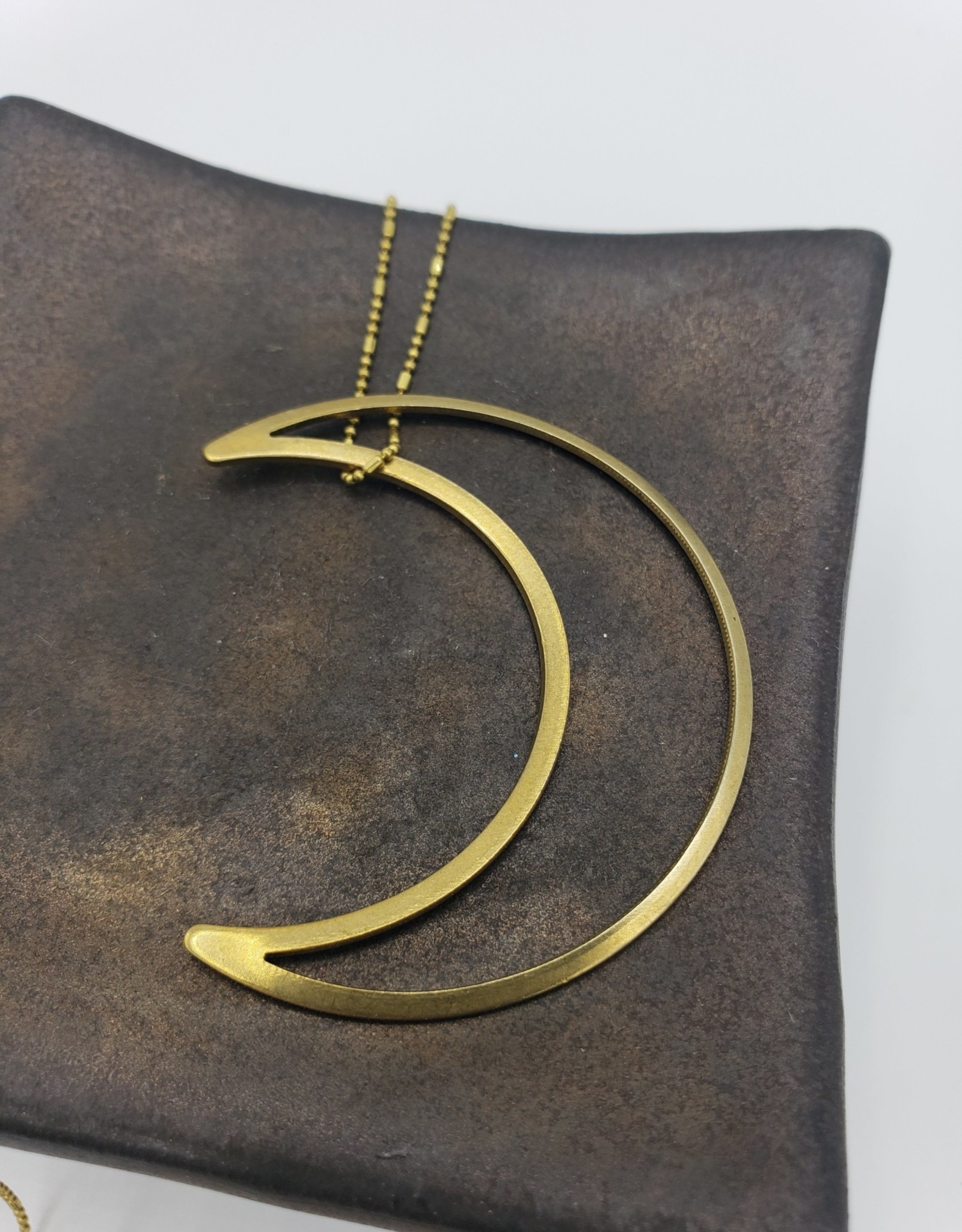 Boho Gal Jewelry Over the Moon Necklace