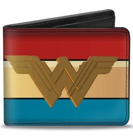 Buckle Down Belts Wonder Woman 2017 - Bi-Fold Vinyl Wallet