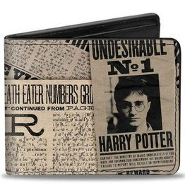 Buckle Down Belts Harry Potter Headlines - Bi-Fold Wallet - Undesirable No. 1