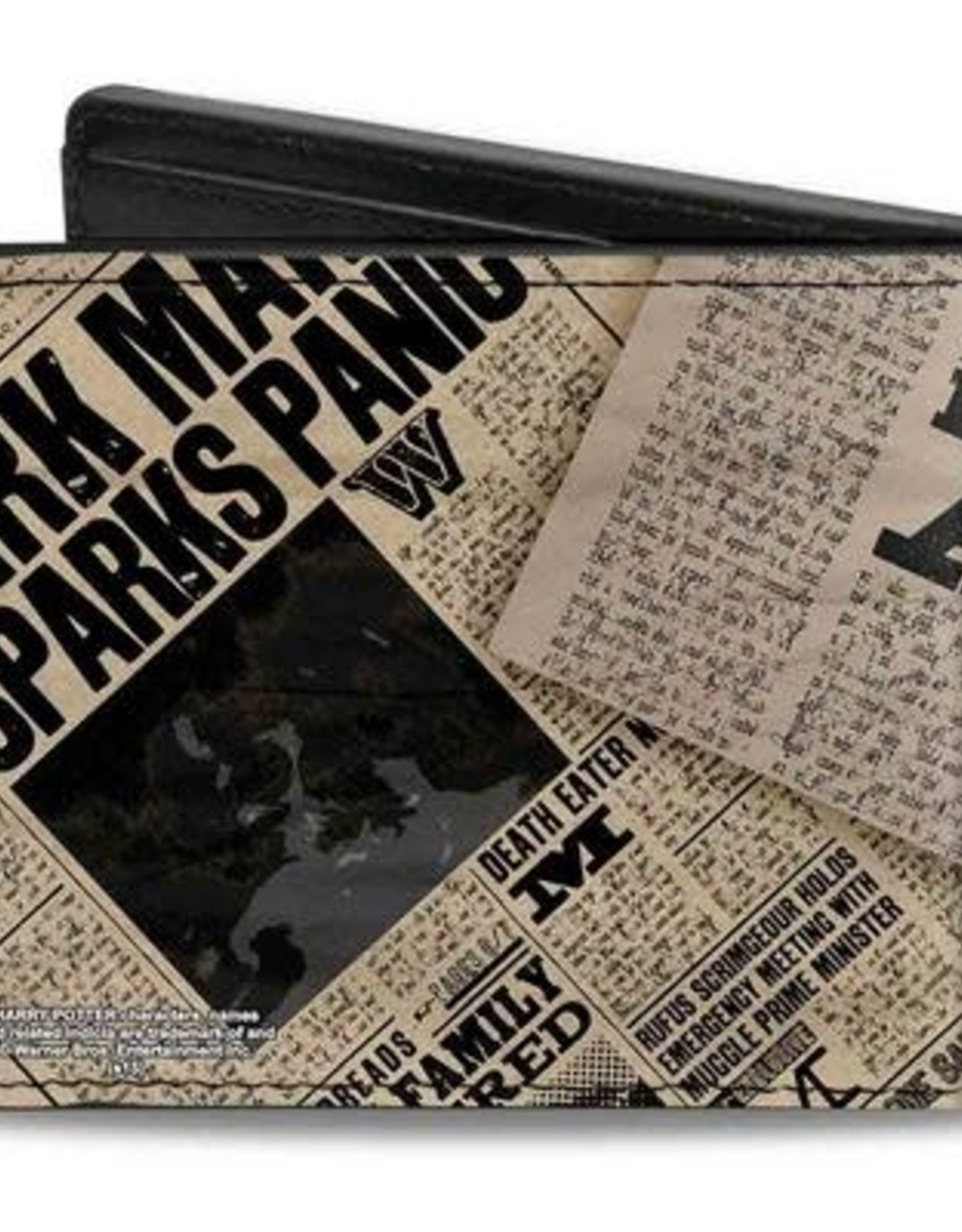 Buckle Down Belts Harry Potter Headlines - Bi-Fold Wallet - Undesirable No. 1