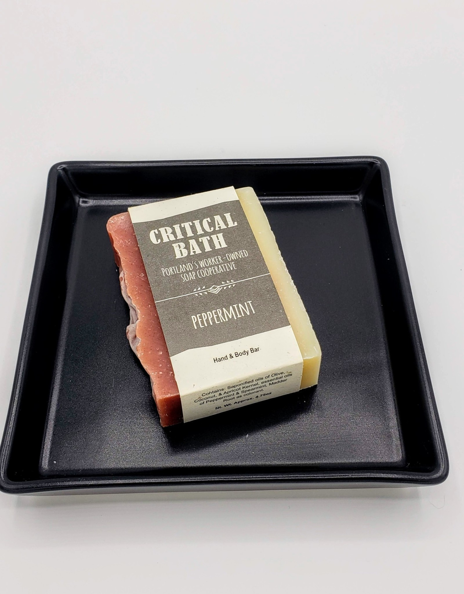 Critical Bath Critical Bath Peppermint Handmade Soap