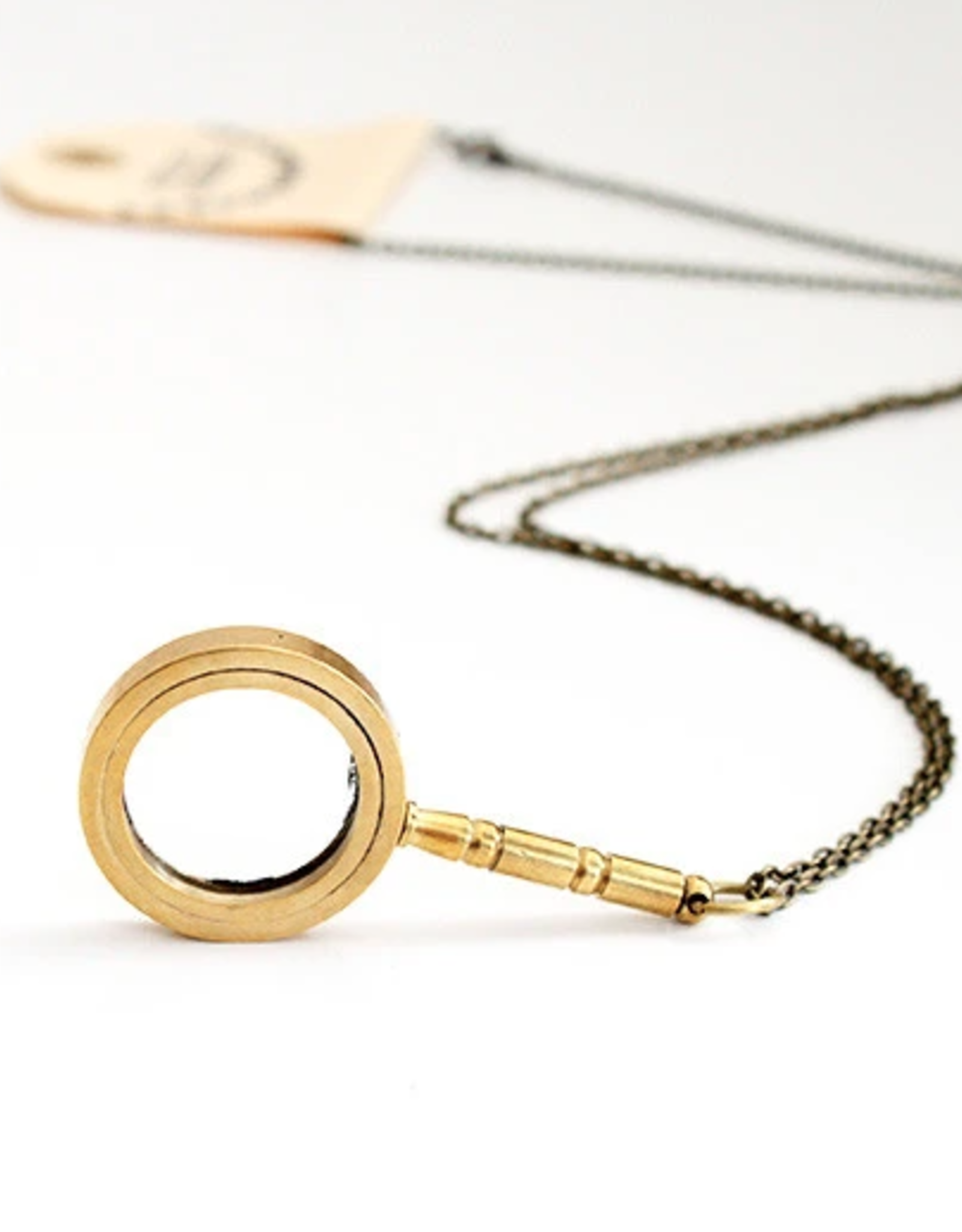 Oh, Hello Friend Magnifying Glass Necklace - Oh, Hello Friend