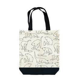 Seltzer Cat Lap Tote Bag - Seltzer