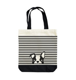 Seltzer Dog Stripes Tote Bag - Seltzer