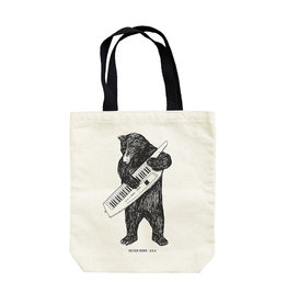 Seltzer Bear Keytar Tote Bag - Seltzer