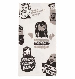 Blue Q Dish Towel: Trust The Beard, Be The Beard