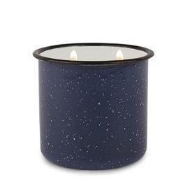 Paddywax Alpine Enamelware candle - Driftwood & Indigo 9.5 oz.