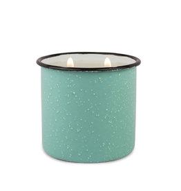 Paddywax Alpine Enamelware candle - Fresh Air & Sea Salt 9.5 oz.