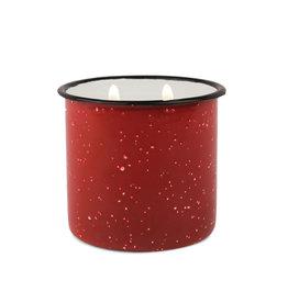 Paddywax Alpine Enamelware candle - Pomegranate & Spruce 9.5 oz.