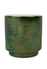 Paddywax Glow 17oz Irridescent ceramic candle - Balsam & Eucalyptus