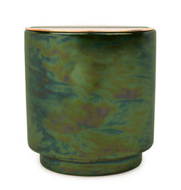Paddywax Glow Candle - Irridescent ceramic candle - Balsam & Eucalyptus, 17oz
