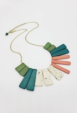 Mata Traders Color Study Statement Necklace - Mata Traders
