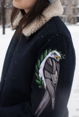 """Stay Home Club """"Everybody Hurts"""" Crying Eagle Iron-On Patch by Stay Home Club"""