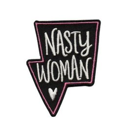 "Allison Cole ""Nasty Woman"" Iron On Patch - by Allison Cole"