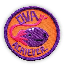 """Ova Achiever"" Iron On Patch - by I Heart Guts"