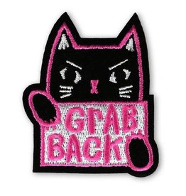 """Grab Back"" Iron On Patch - by Allison Cole"