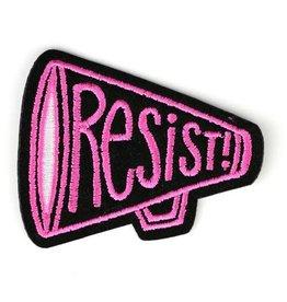 "Allison Cole ""Resist!"" Iron On Patch - by Allison Cole"