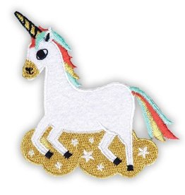 """Magical Unicorn"" Iron On Patch - by Allison Cole"