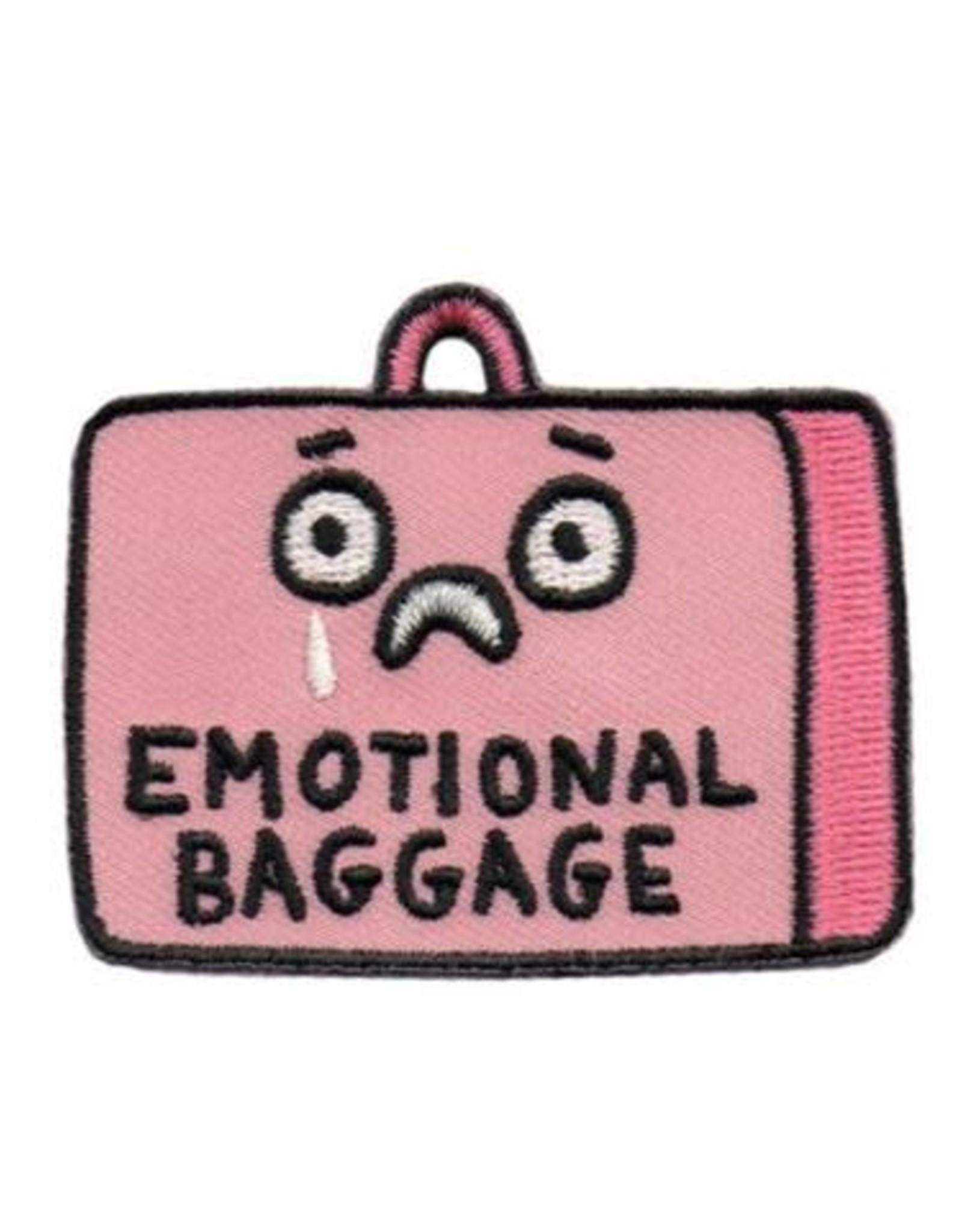 "Gemma Correll ""Emotional Baggage"" Iron On Patch - by Gemma Correll"