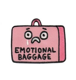 """Emotional Baggage"" Iron On Patch - by Gemma Correll"