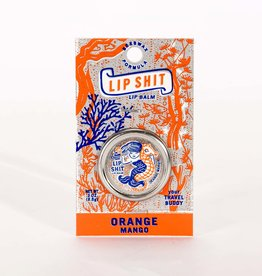 Blue Q Lip Balm: Lip Shit, Orange Mango