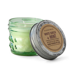 Paddywax Relish Jar 3 oz candle - White Birch & Mint