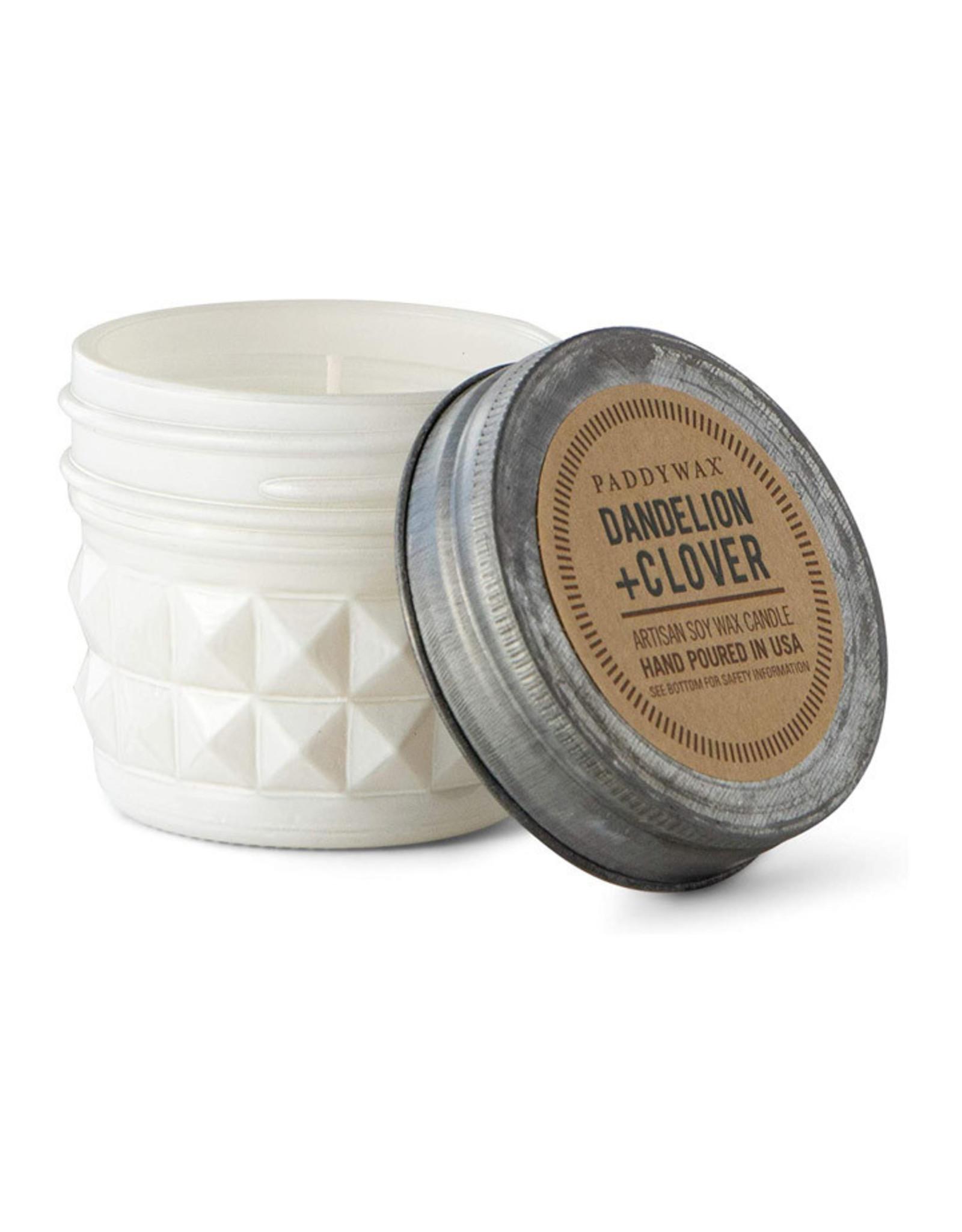 Paddywax Relish Jar 3 oz candle - Dandelion & Clover