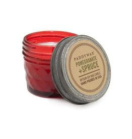 Paddywax Relish Jar 3oz candle - Pomegranate & Spruce