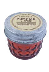 Paddywax Relish Jar 3oz candle - Pumpkin & Spice
