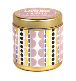 Paddywax Tin candle 3oz. - Lavender & Cassis