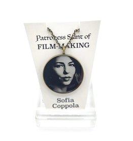 Redux Sofia Coppola Patroness Saint Pendant Necklace