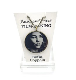 Sofia Coppola Patroness Saint Pendant Necklace
