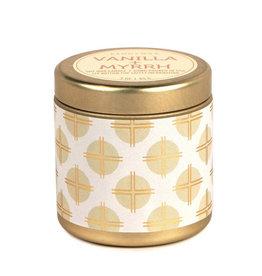 Paddywax Tin candle 3oz. - Vanilla & Myrrh