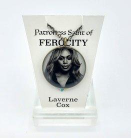 Redux Laverne Cox Patroness Saint Pendant Necklace