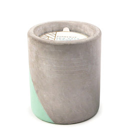 Paddywax Urban 12oz Concrete pot (large), Sea Salt & Sage