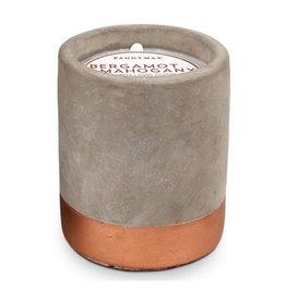 Paddywax Urban 3.5oz Concrete Candle (Small) - Bergamot & Mahogany