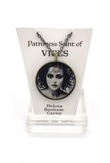 Redux Helena Bonham Carter Patroness Saint Pendant Necklace