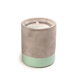 Paddywax Urban 3.5oz Concrete Candle (Small) - Sea Salt & Sage