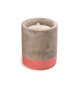 Paddywax Urban 3.5oz Concrete Candle (Small) - Salted Grapefruit