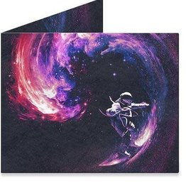 "Dynomighty Design ""Galaxy"" Dynomighty Tyvek Wallet"