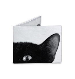 "Dynomighty Design ""Jojo the Cat"" Dynomighty Tyvek Wallet"