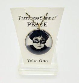 Yoko Ono Patroness Saint Pendant Necklace