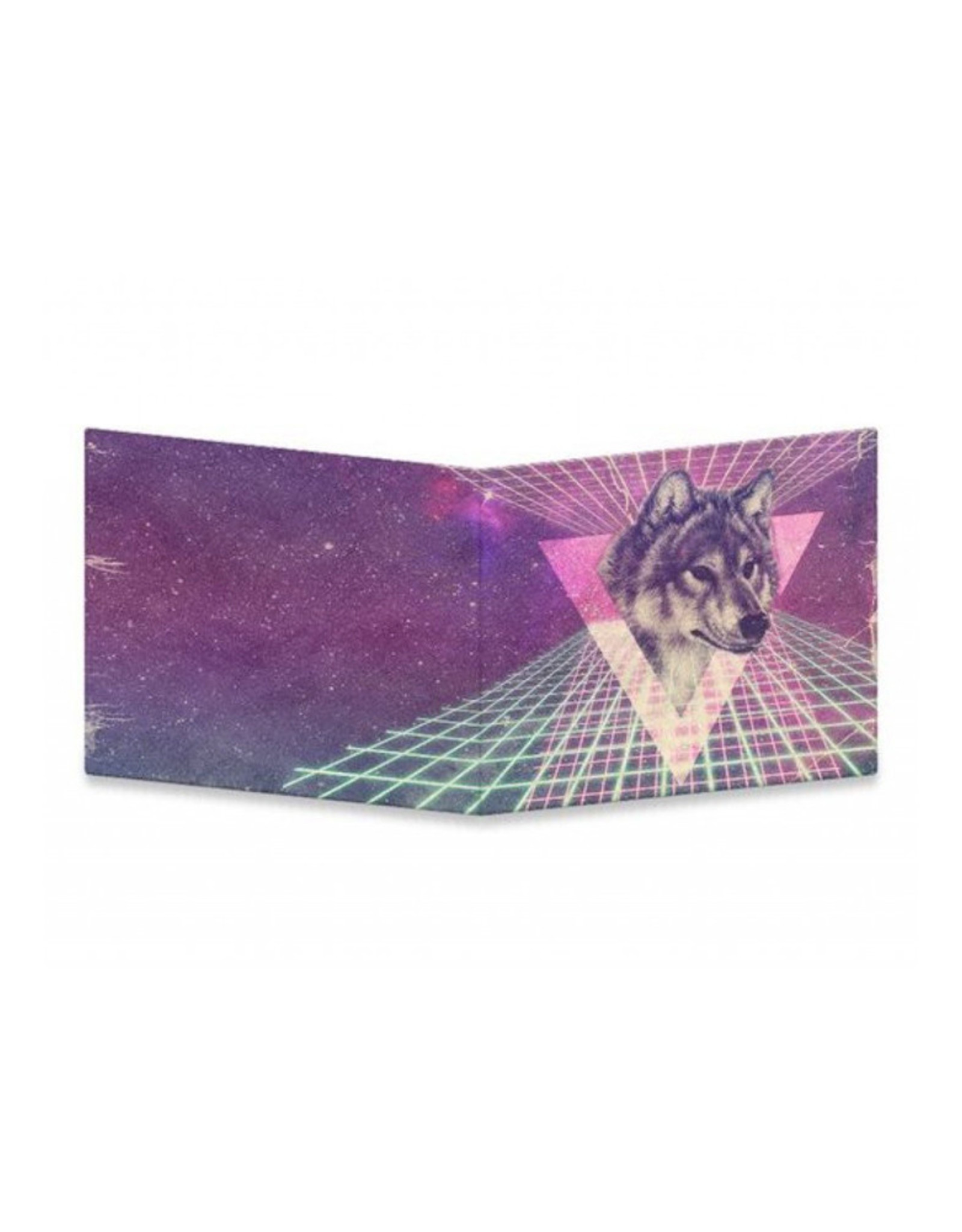 "Dynomighty Design ""Space Wolf"" Dynomighty Tyvek Wallet"