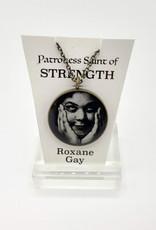 Redux Roxane Gay Patroness Saint Pendant Necklace
