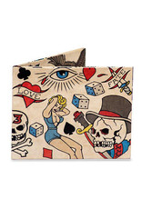 "Dynomighty Design ""Tattoo"" Dynomighty Tyvek Wallet"