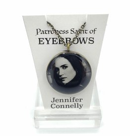 Jennifer Connelly Patroness Saint Pendant Necklace