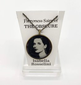 Isabella Rossellini Patroness Saint Pendant Necklace