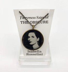 Redux Isabella Rossellini Patroness Saint Pendant Necklace